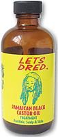 LETS DRED JAMAICAN BLACK CASTOR OIL