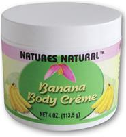 NATURES NATURAL BANANA BODY CREME