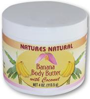 NATURES NATURAL BANANA BODY BUTTER